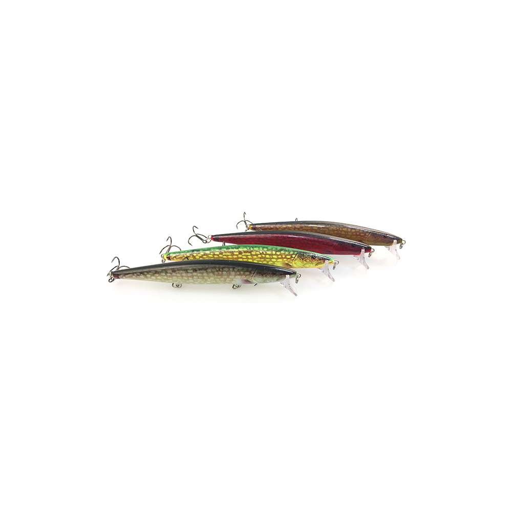 Rapala Flat Rap Red Pike - Wobler
