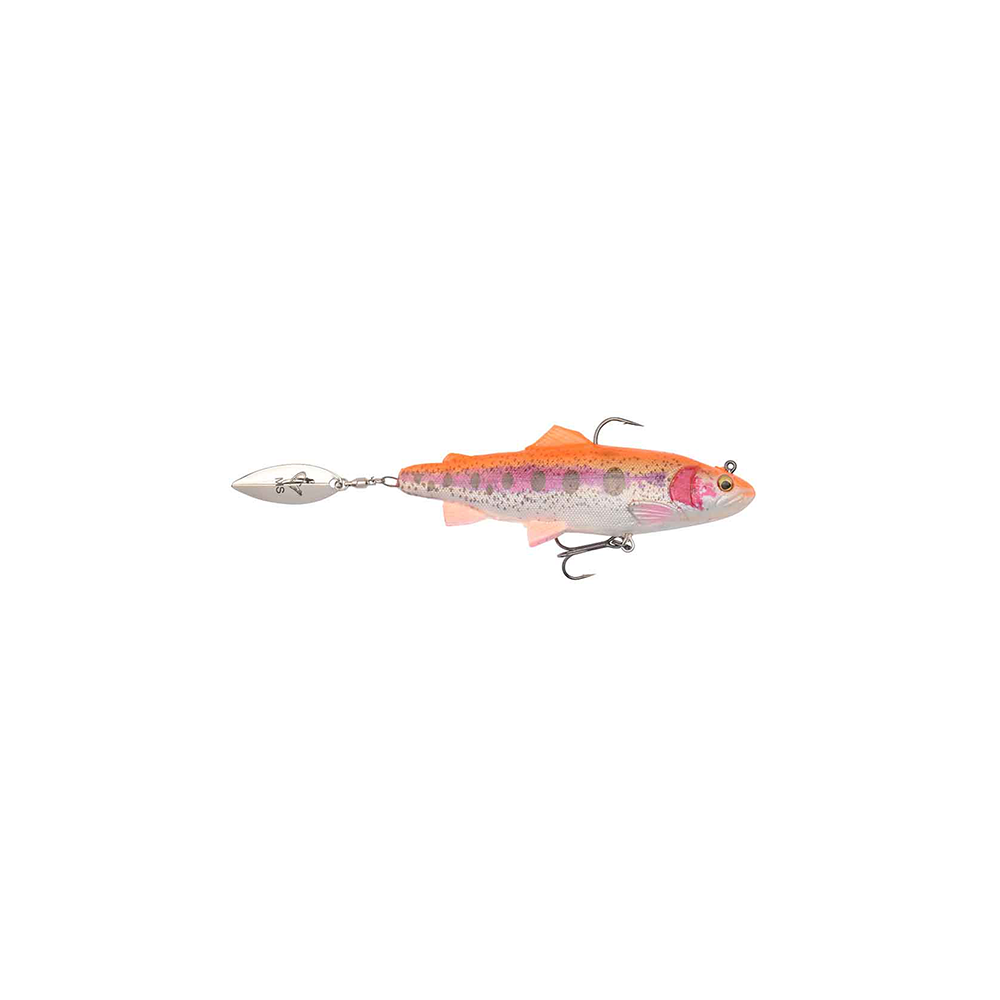 Savage Gear 4d Trout Spin Shad 11cm - 40gr Golden Albino - Softbait thumbnail