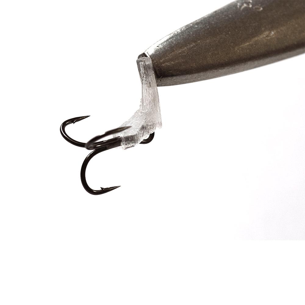 jens bursell – Release connector transparent - gennemløber fra fisk på krogen
