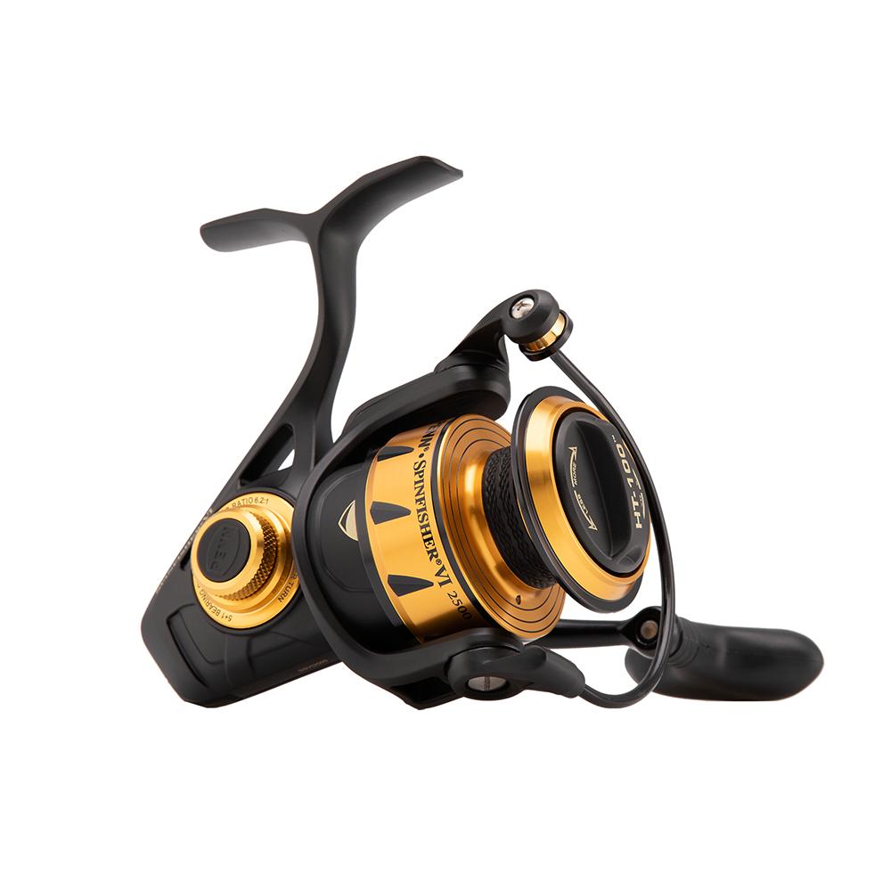 penn Penn spinfisher vi 2500 - havkastehjul på fisk på krogen
