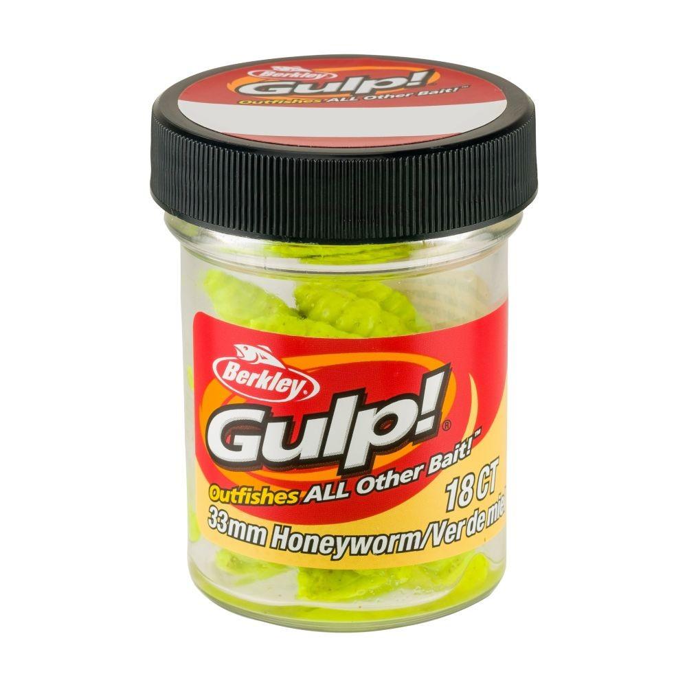 Berkley Gulp! Honeyworm 4,5cm Chartreuse - Berkley Gulp thumbnail