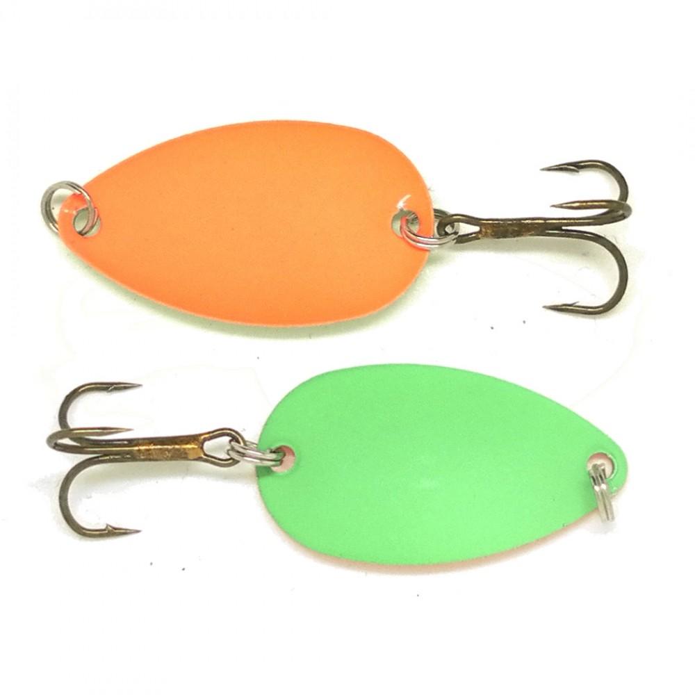 viking lures – Fidusen microblink green/orange - fidusen fra fisk på krogen