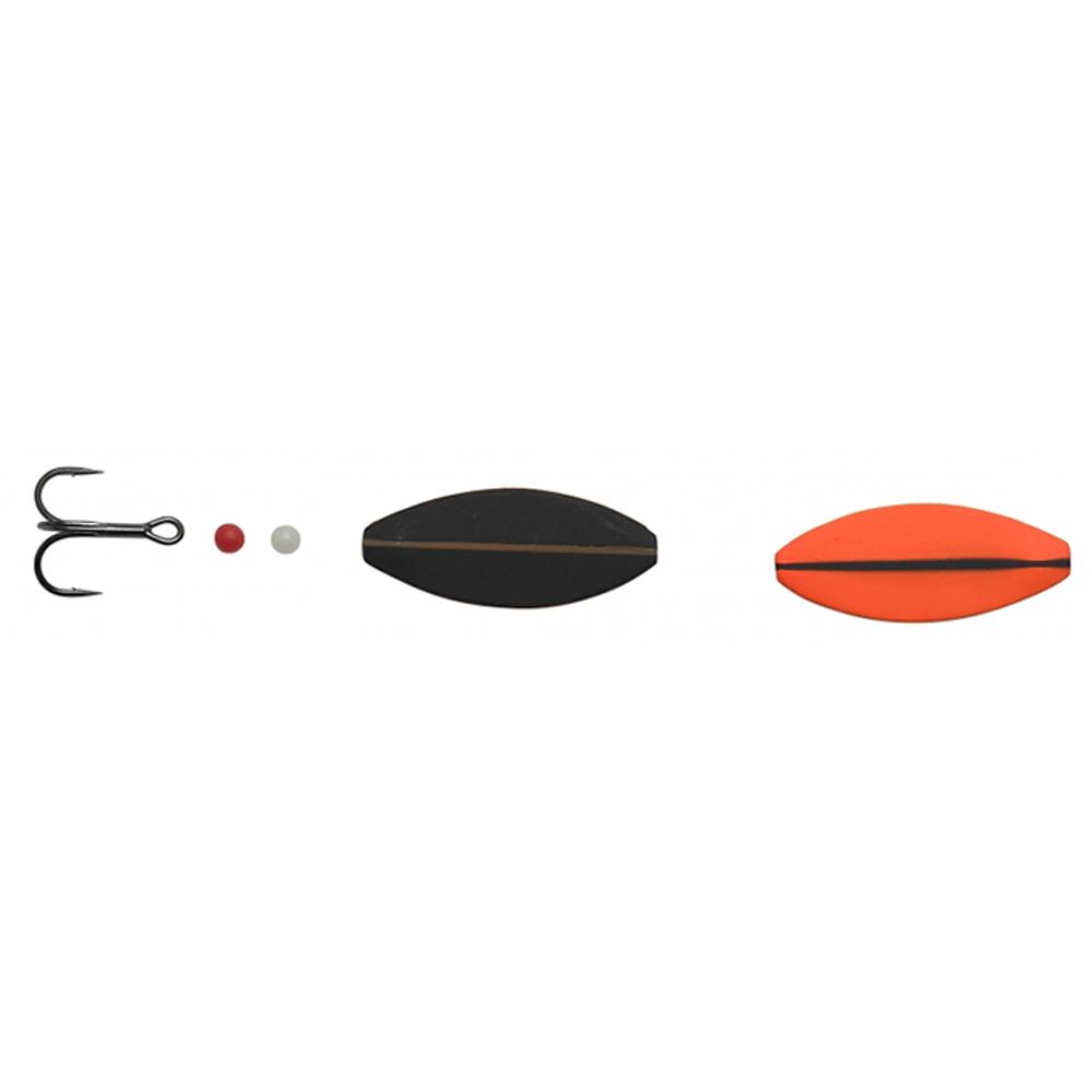 Hansen sd snapshot 4cm - 5,3gr uv orange/mat black - gennemløber fra hansen på fisk på krogen