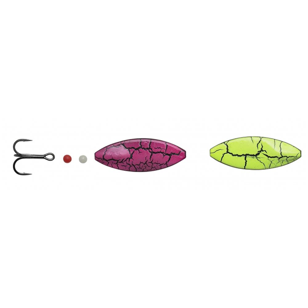 hansen Hansen sd snapshot 4,4cm - 7,6gr uv pink/yellow crackling - gennemløber på fisk på krogen