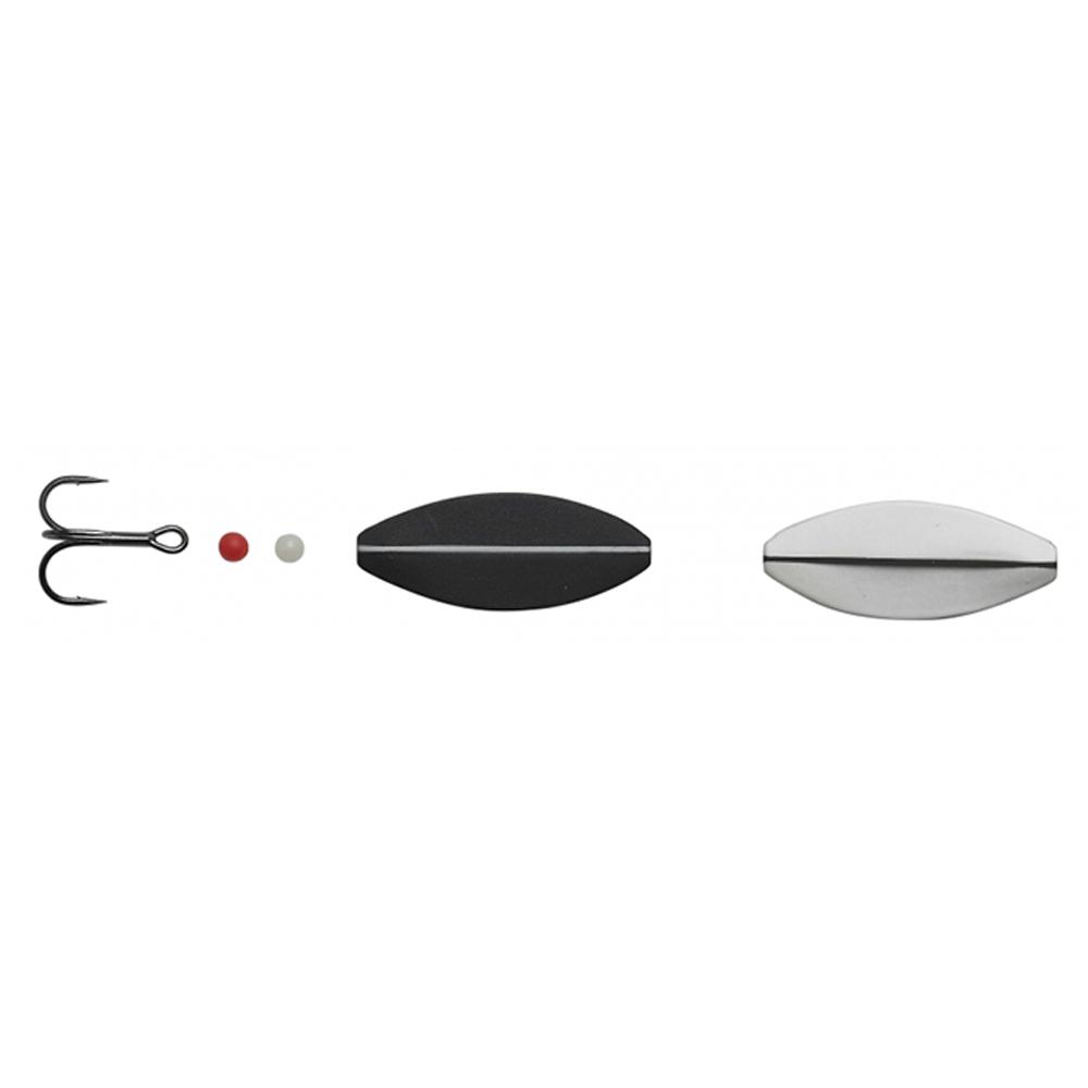 hansen – Hansen sd snapshot 4,4cm - 7,6gr uv signal white/mat black - gennemløber fra fisk på krogen