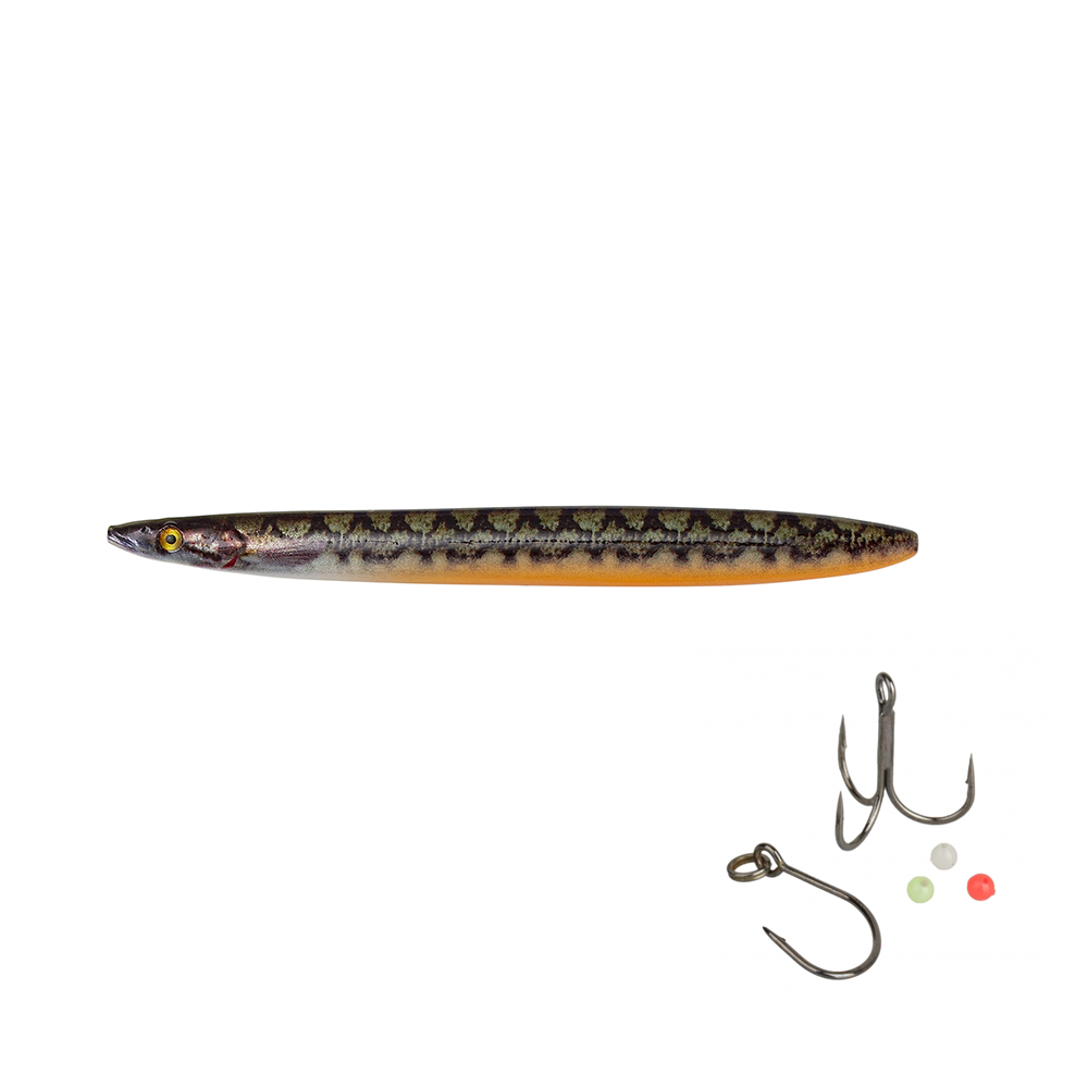 Savage Gear Line Thru Sandeel Eel Pout Collection 8,5cm - 11gr Eel Pout - Gennemløber thumbnail