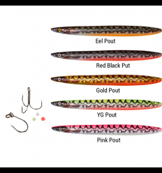 Savage Gear Line Thru Sandeel Eel Pout Collection