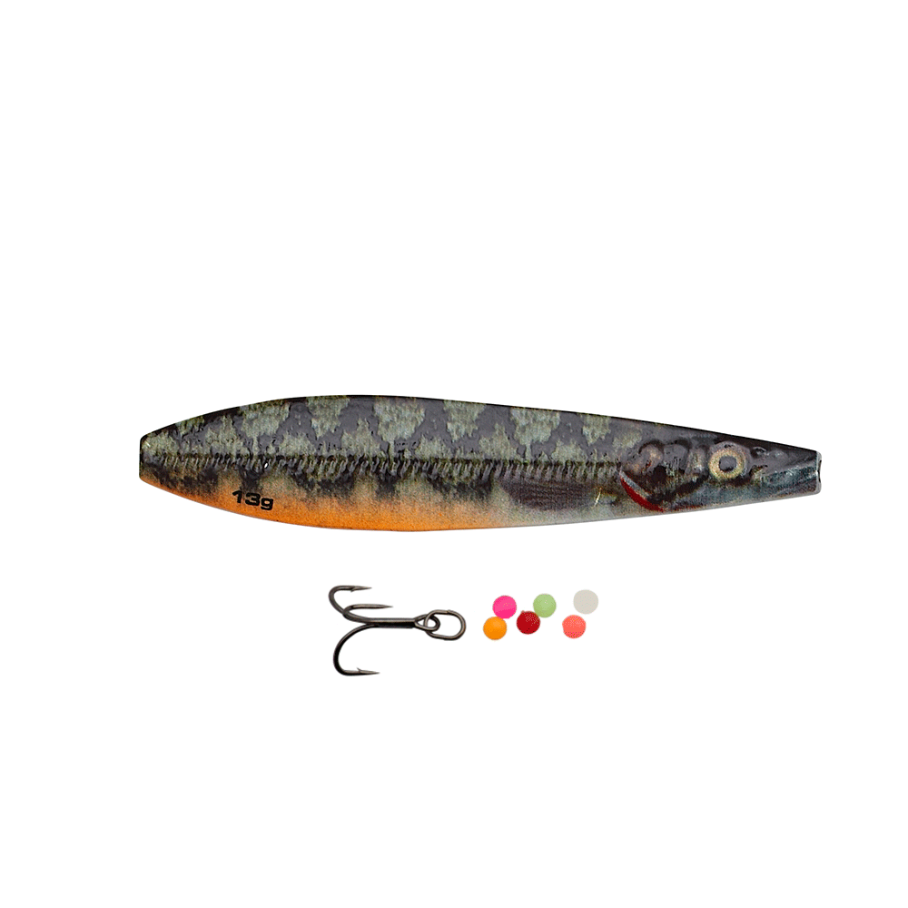Savage Gear Line Thru Seeker Eel Pout Collection 7,5cm - 18gr Eel Pout - Gennemløber thumbnail