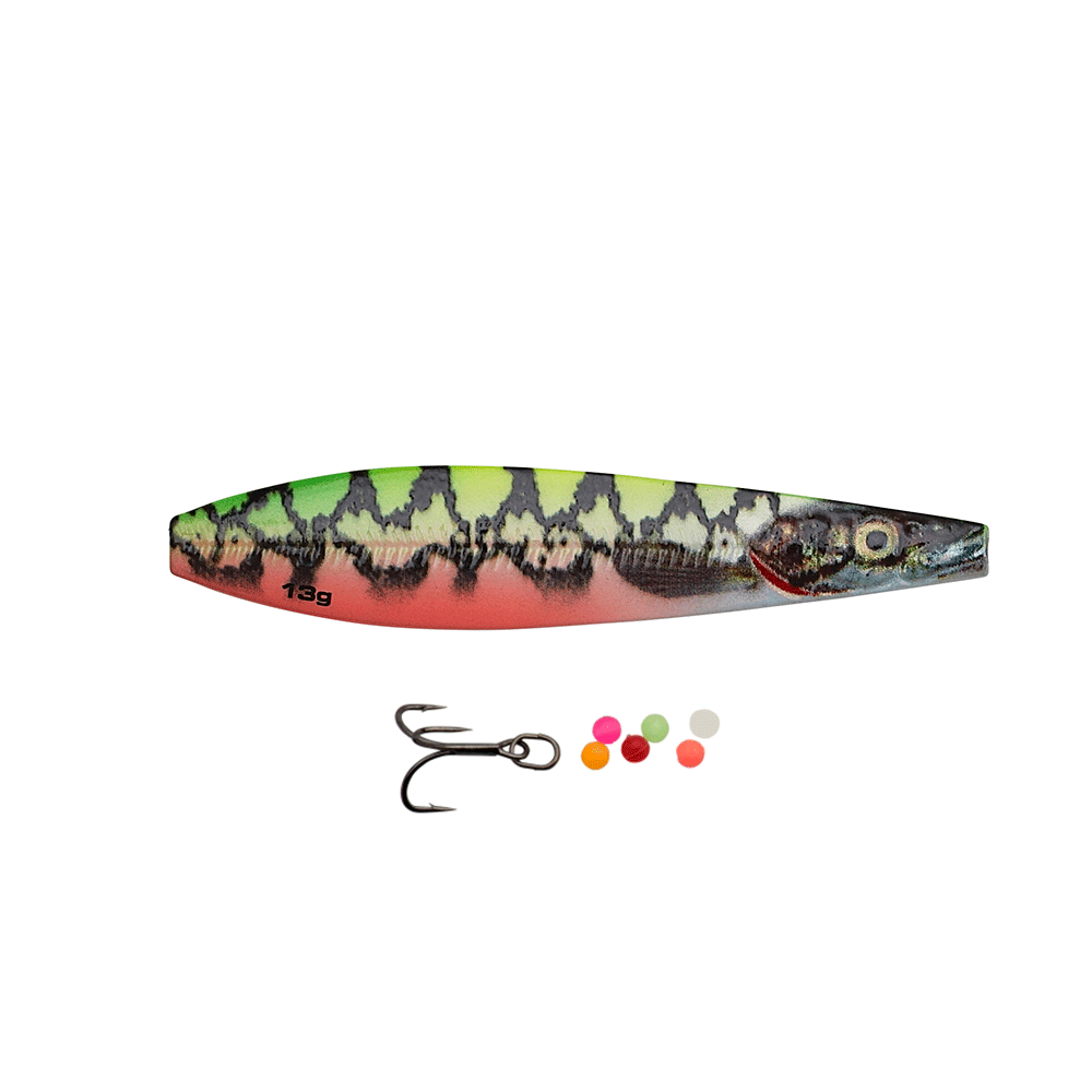 savage gear – Savage gear line thru seeker eel pout collection 9cm - 24gr yg pout - gennemløber på fisk på krogen