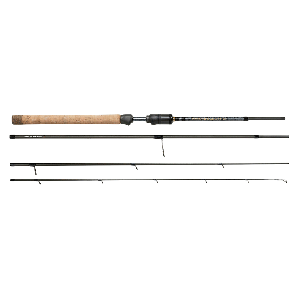 savage gear – Savage gear parabellum ccs travel 101 12-35gr - spinnestang på fisk på krogen