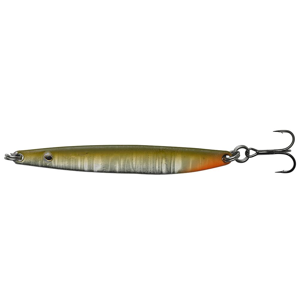 Hansen sd flash 8,7cm - 16gr olive/silver - blink fra hansen på fisk på krogen