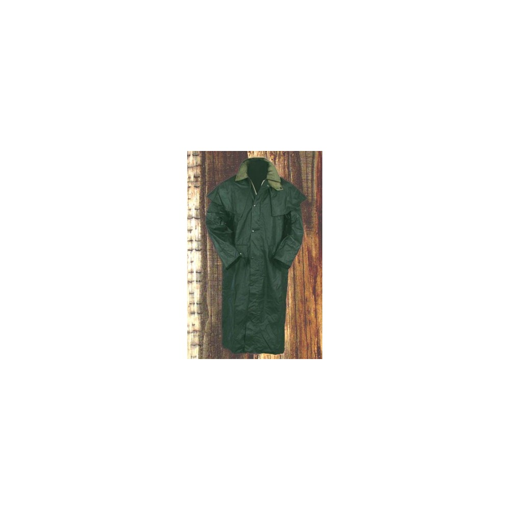 Image of   Westland Oilskin Keswick Olive Large - Jakker