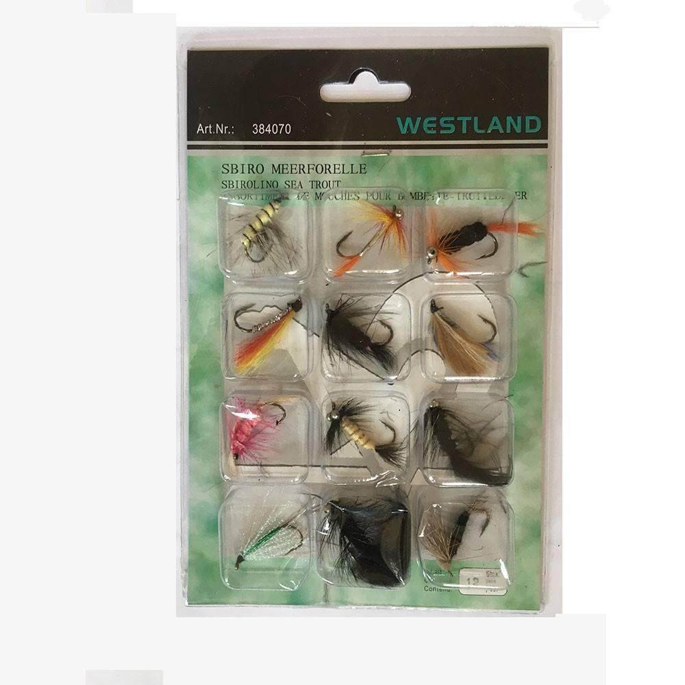 Westland sea trout pack - fluer fra westland på fisk på krogen