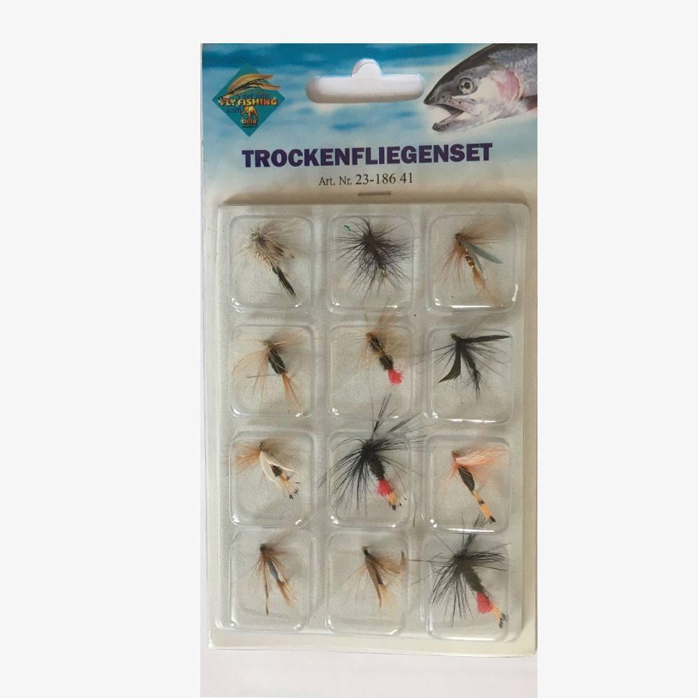 behr Behr tørflue fluepack - fluer på fisk på krogen