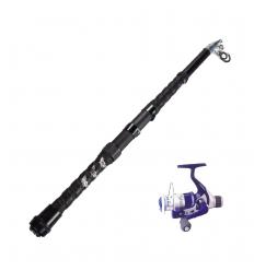 Teleskop fiskestang sæt