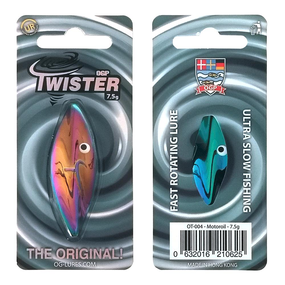 Ogp Twister 7,5gr Motoroil - Gennemløber thumbnail