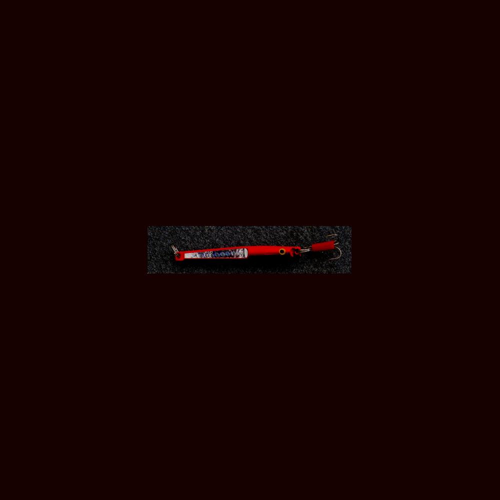 Westland Bounce Pirk 100 Gr Fluo Rød/sort - Pirke