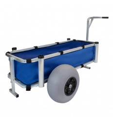 Pro Tackle Heavy Cargo Trolley Fishermen Handcart
