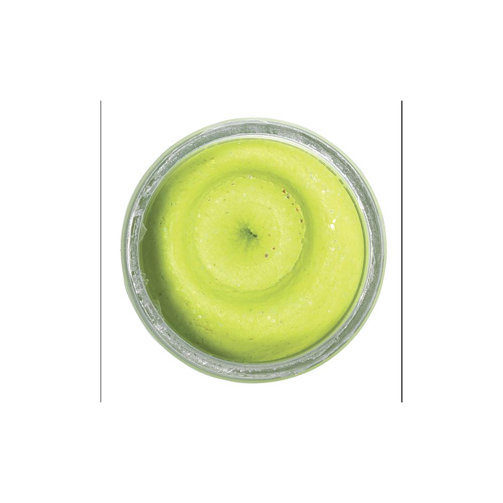 berkley Powerbait natural scent garlic chartreuse - berkley powerbait på fisk på krogen