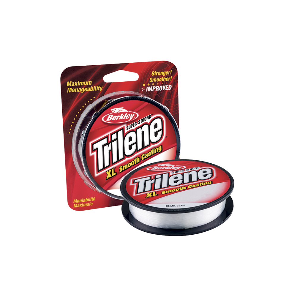 berkley – Trilene xl smooth casting 0,35mm - nylonline fra fisk på krogen