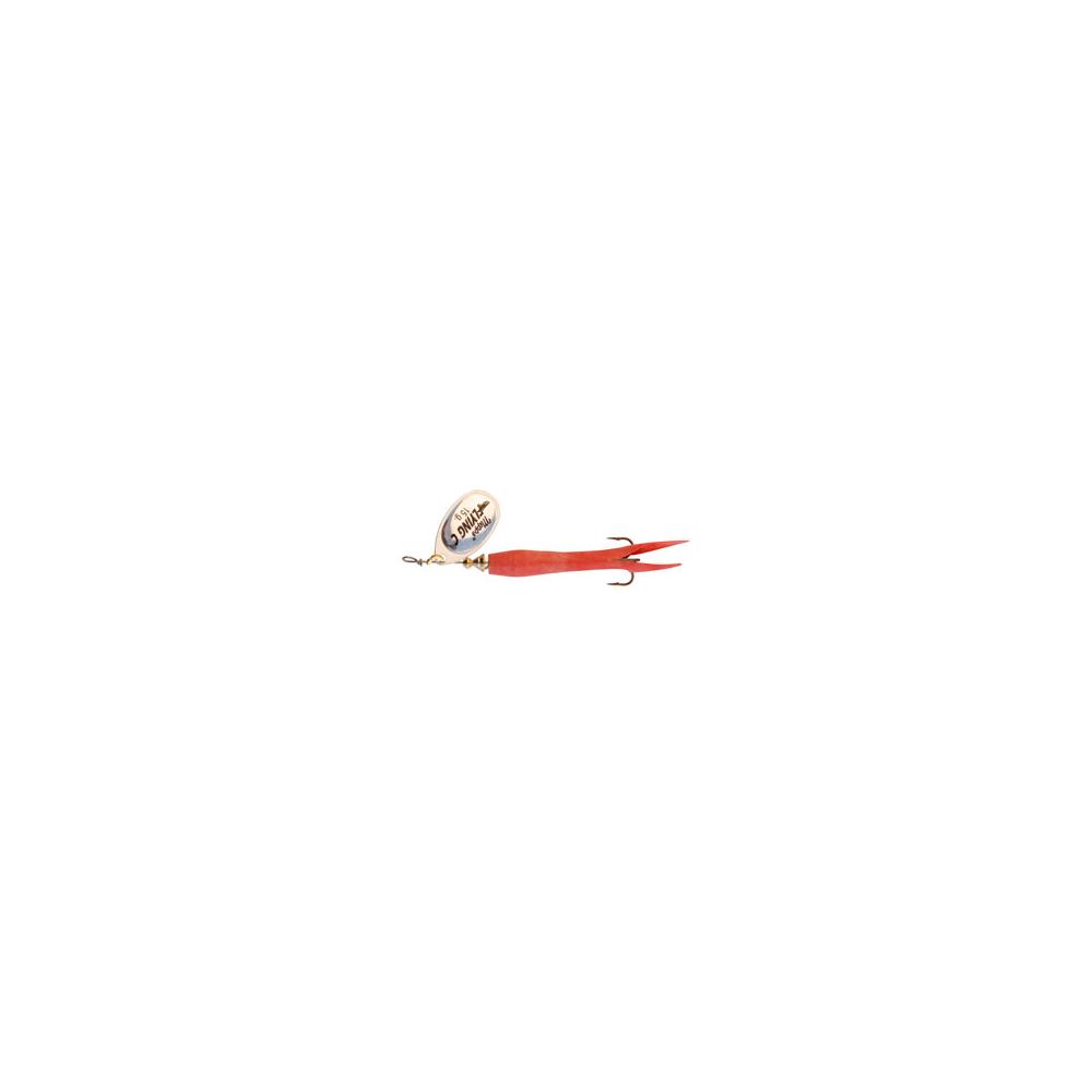 Mepps aglia fly c 15 gr rød/sølv - spinnere fra mepps på NaturKlub.dk