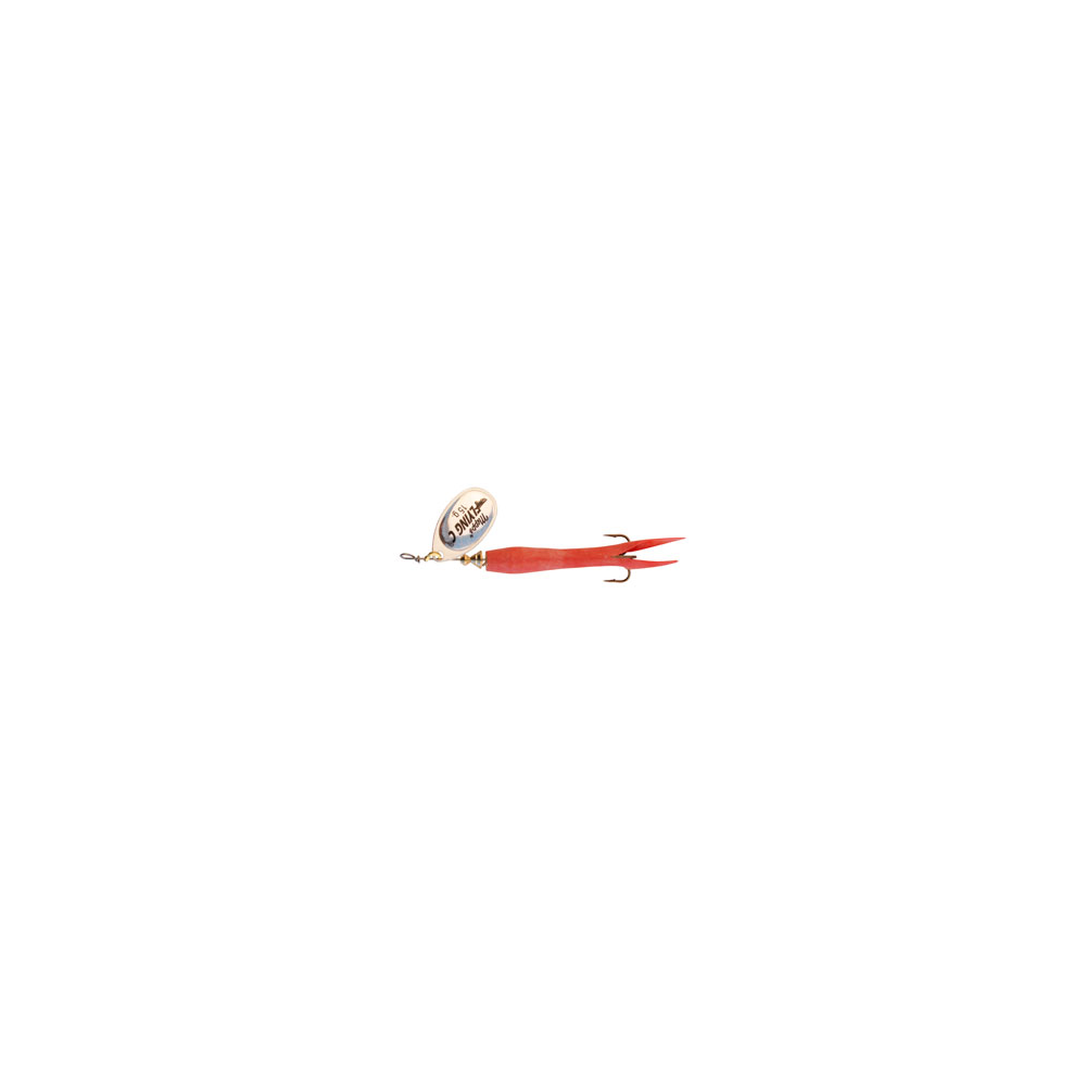 Mepps Aglia Fly C 15 Gr Rød/sølv - Spinnere