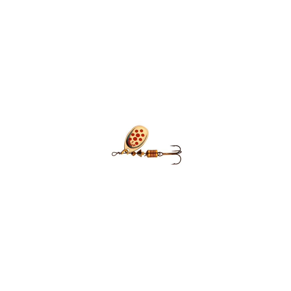 Mepps Aglia Dec Guld/rød - Spinnere