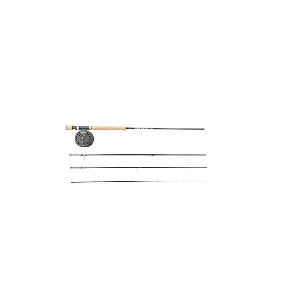 ron thompson – Ron thompson flylite combo 9 #5/6 - fluesæt på fisk på krogen