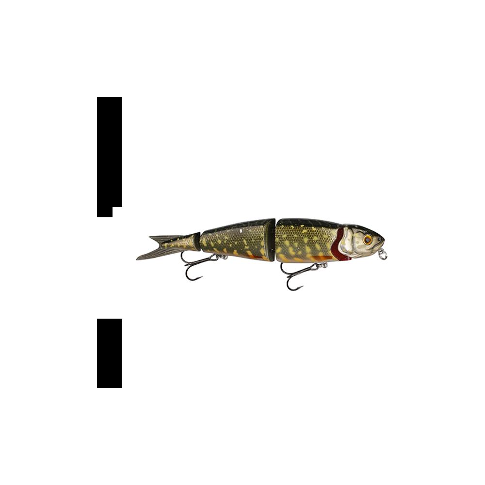 savage gear – Savage gear 4play herring liplure 13 cm - 21gr jack pike 3d - wobler fra fisk på krogen