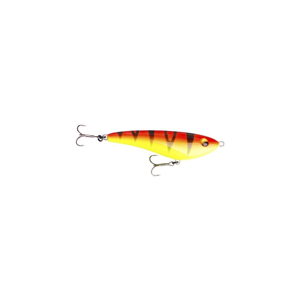 savage gear Savage gear freestyler v2 13cm - 42gr golden ambulance - jerkbait på fisk på krogen