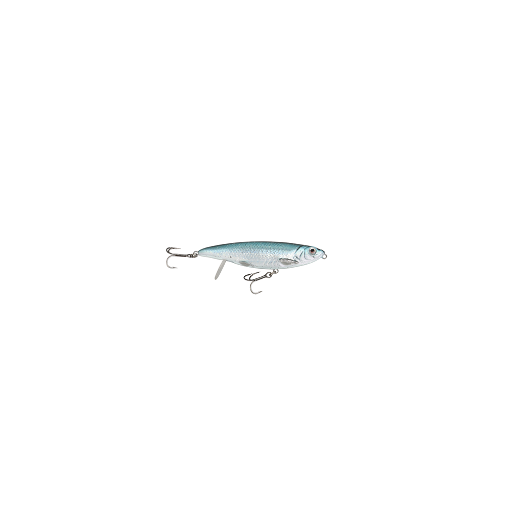 Savage Gear 3d Backlip Herring 10cm - 19gr Blue Silver - Wobler