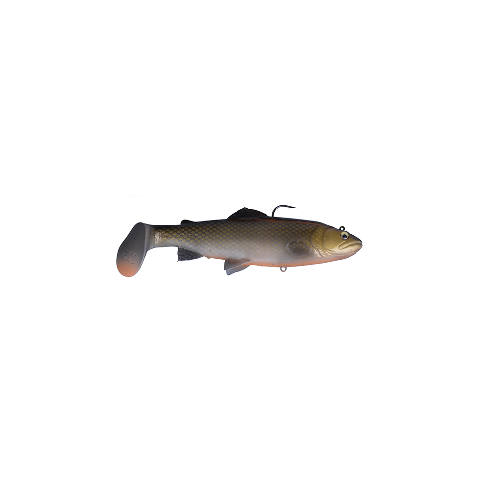 savage gear Savage gear 3d trout rattle shad 12,5cm - 35gr dirty roach - softbait fra fisk på krogen
