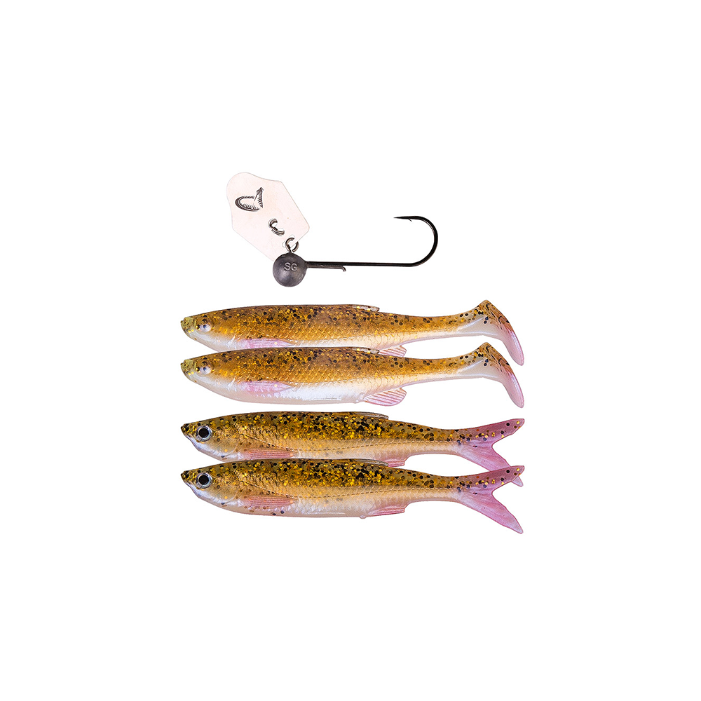 savage gear – Savage gear crazy blade bleak kit 13cm rudd minnow - softbait på fisk på krogen