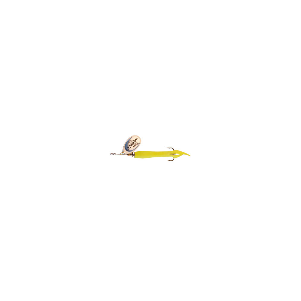 Image of   Mepps Aglia Fly C 15 Gr Fluo Yellow / Silver - Spinnere