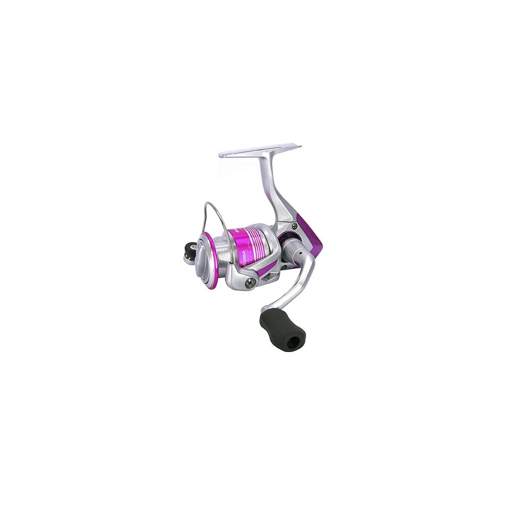 okuma Okuma pink pearl 30 - fastspolehjul på fisk på krogen
